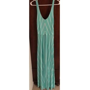 *NWT* Striped Maxi Dress